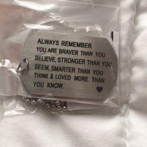 """""""Always Know"""" Keychain"""